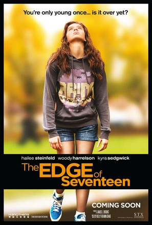 The Edge of Seventeen - Movie Poster (thumbnail)