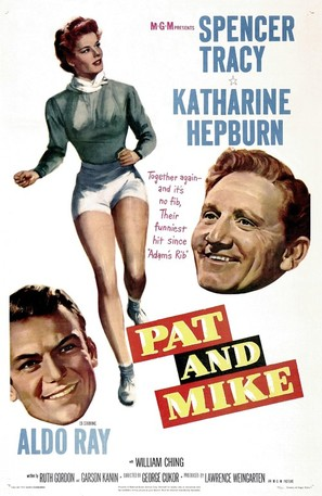 Pat and Mike - Movie Poster (thumbnail)