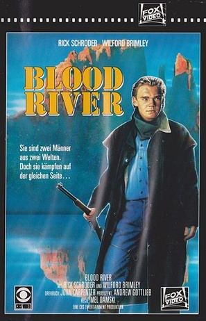 Blood River - German VHS cover (thumbnail)