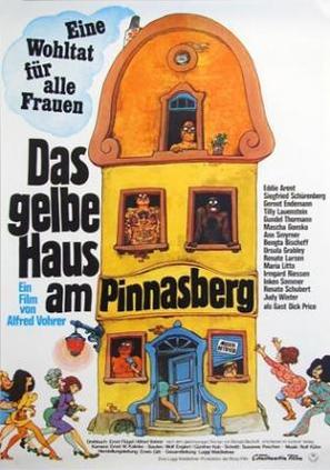 Das gelbe Haus am Pinnasberg - German Movie Poster (thumbnail)