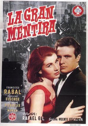 Gran mentira, La - Spanish Movie Poster (thumbnail)