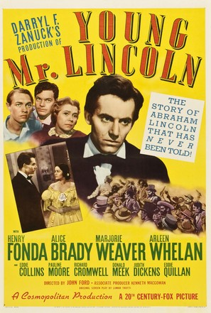 Young Mr. Lincoln - Movie Poster (thumbnail)