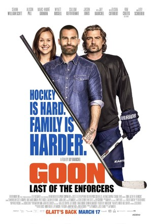 Goon: Last of the Enforcers - Canadian Movie Poster (thumbnail)