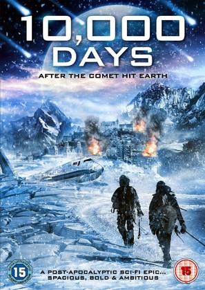 10,000 Days - British DVD movie cover (thumbnail)
