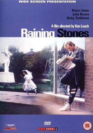 Raining Stones - British DVD cover (thumbnail)