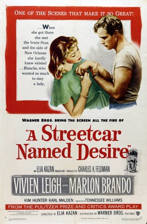 A Streetcar Named Desire - Movie Poster (thumbnail)