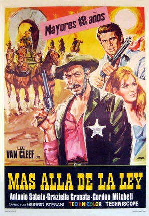 Al di là della legge - Spanish Movie Poster (thumbnail)