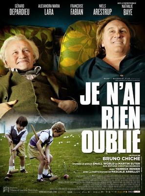 Je n'ai rien oublié - French Movie Poster (thumbnail)