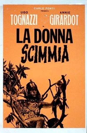 La donna scimmia - Italian Movie Poster (thumbnail)