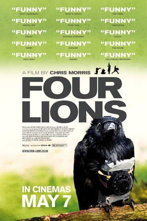 Four Lions - British Movie Poster (thumbnail)