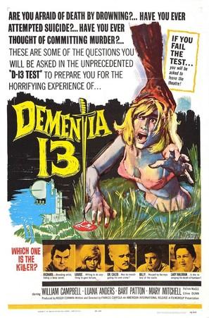Dementia 13 - Movie Poster (thumbnail)