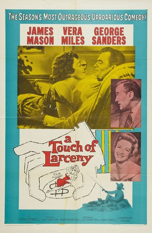 A Touch of Larceny - Movie Poster (thumbnail)
