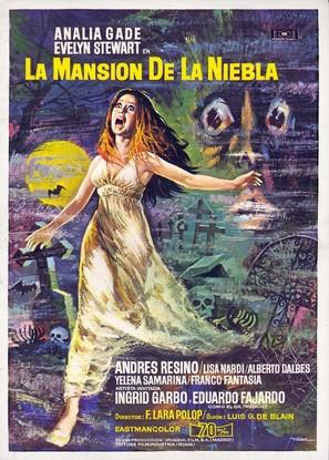 Mansión de la niebla, La - Spanish Movie Poster (thumbnail)