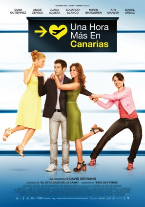 Una hora más en Canarias - Spanish Movie Poster (thumbnail)