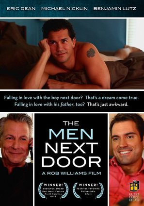 The Men Next Door - DVD cover (thumbnail)
