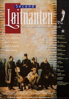 Secondløitnanten - Norwegian Movie Poster (thumbnail)