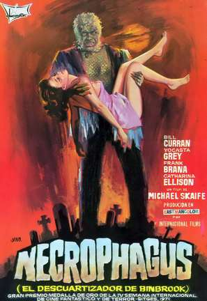 Necrophagus - Spanish Movie Poster (thumbnail)