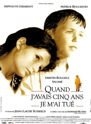 Quand j'avais 5 ans je m'ai tué - French Movie Poster (thumbnail)