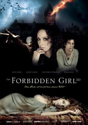 The Forbidden Girl - German Movie Poster (thumbnail)