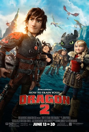 How to Train Your Dragon 2 - Movie Poster (thumbnail)
