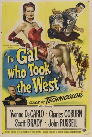 The Gal Who Took the West - Movie Poster (thumbnail)