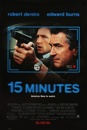15 Minutes - Movie Poster (thumbnail)