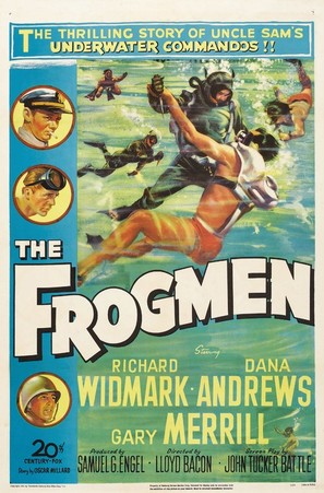 The Frogmen - Movie Poster (thumbnail)