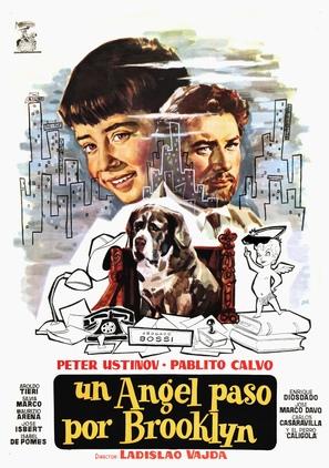 Un angelo è sceso a Brooklyn - Spanish Movie Poster (thumbnail)