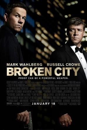 Broken City - Movie Poster (thumbnail)