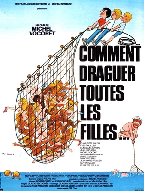 Comment draguer toutes les filles... - French Movie Poster (thumbnail)