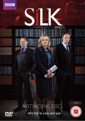 """Silk"" - British DVD movie cover (thumbnail)"