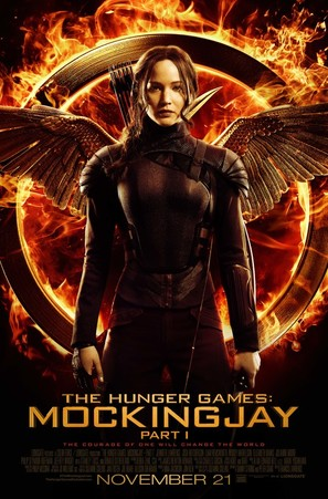 The Hunger Games: Mockingjay - Part 1 - Movie Poster (thumbnail)