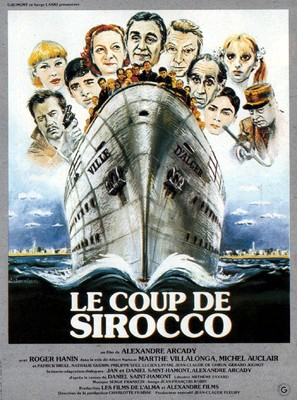 Le coup de sirocco - French Movie Poster (thumbnail)