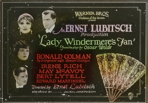 Lady Windermere's Fan - British Movie Poster (thumbnail)