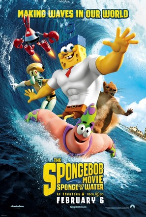 The SpongeBob Movie: Sponge Out of Water - Theatrical movie poster (thumbnail)