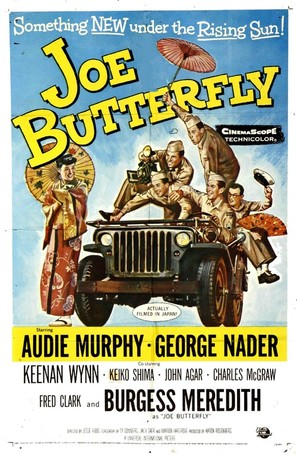 Joe Butterfly - Movie Poster (thumbnail)