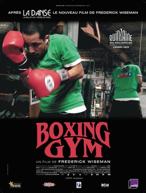 Boxing Gym - French Movie Poster (thumbnail)