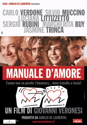 Manuale d'amore - Italian Movie Poster (thumbnail)
