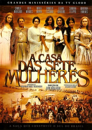 """A Casa das Sete Mulheres"" - Brazilian DVD movie cover (thumbnail)"
