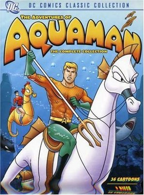 """Aquaman"" - DVD movie cover (thumbnail)"