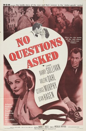 No Questions Asked - Movie Poster (thumbnail)