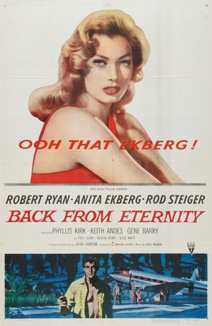 Back from Eternity - Movie Poster (thumbnail)