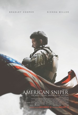 American Sniper - Theatrical movie poster (thumbnail)
