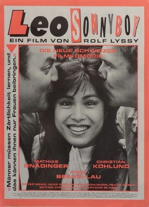 Leo Sonnyboy - Swiss Movie Poster (thumbnail)
