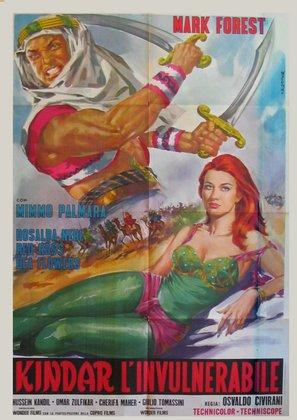Kindar l'invulnerabile - Italian Movie Poster (thumbnail)