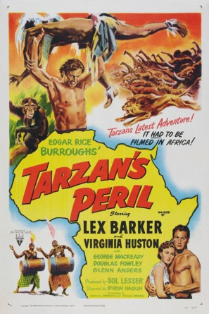 Tarzan's Peril - Movie Poster (thumbnail)