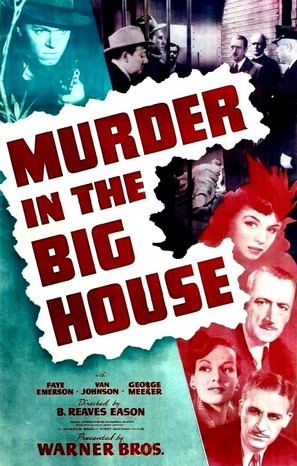 Murder in the Big House - Movie Poster (thumbnail)