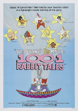 Bugs Bunny's 3rd Movie: 1001 Rabbit Tales - Movie Poster (thumbnail)