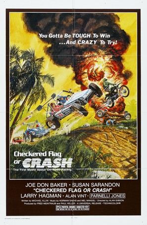 Checkered Flag or Crash - Movie Poster (thumbnail)