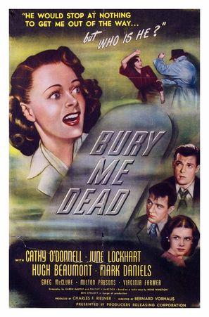 Bury Me Dead - Movie Poster (thumbnail)